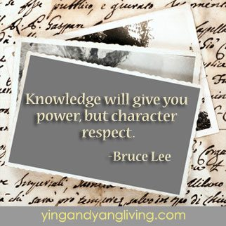 Zen Message: ClipBoard Knowledge and Power by Bruce Lee