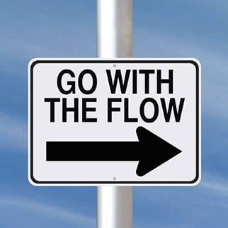 The Art of Living in the Flow: the Objective Witness