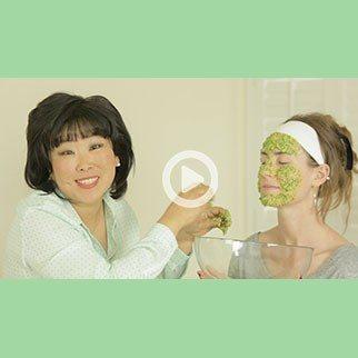 Cilantro & Sticky White Rice Face Mask