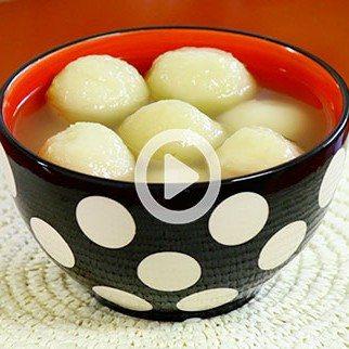 Chinese New Year Mung Bean Dumpling Soup!