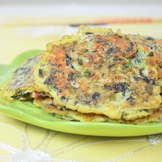 Seaweed Vegetable Mini Egg Omelette