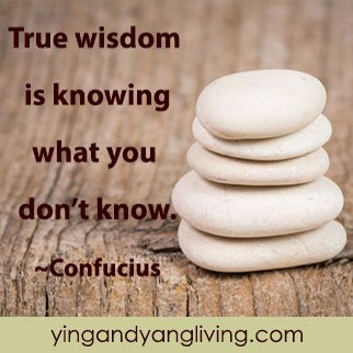 Zen Message: White Rocks – Confucius