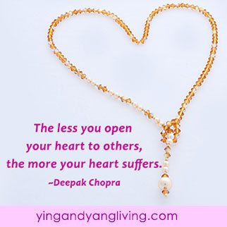 Zen Message: Gold Necklace Deepak Chopra