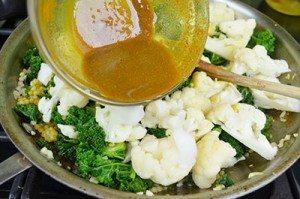 Curry-on-Califlower