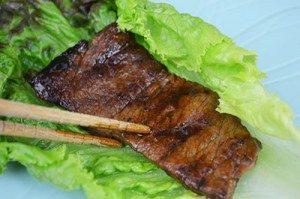 Meat-on-Lettuce