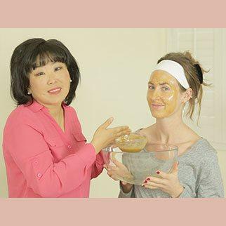 Ginger Lemon Honey Face Mask!