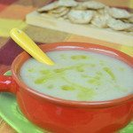 Healthy New Year Vegan Recipe: Potato Fennel Soup with Ginger & Garlic