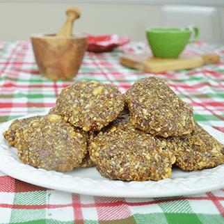 Gluten-Free Vegan Fig & Cashew Cookies