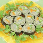 Sushi Rolls with Quinoa & Amaranth Grains