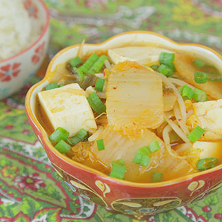 Kimchi Stew to Heal Flus and Viruses