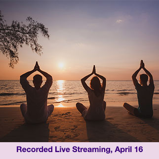 Live Streaming Group Healing Meditation on April 16