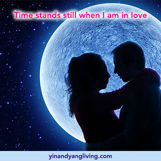 OM Message: Time Stands Still in Love