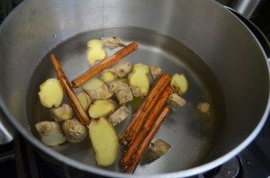 3.Boiling Ingredients