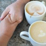 Together at Peet's Coffee…