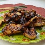 Baked Chicken Wings with Ginger Sesame Soy Sauce