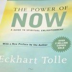 """Power of Now"" by Eckhart Tolle"