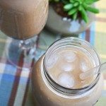 Mint Black Iced Tea with Coconut Milk