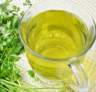 Cilantro Leaf Tea for Detox and Anti-inflammation