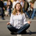 Meditation in Seattle Times Square…